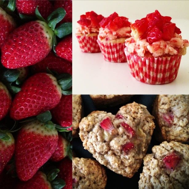 Collage Strawberries